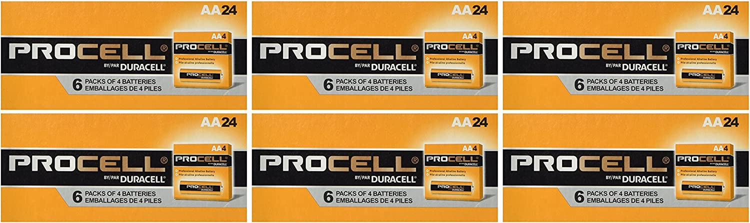 Duracell Procell AA 144 Batteries PC1500