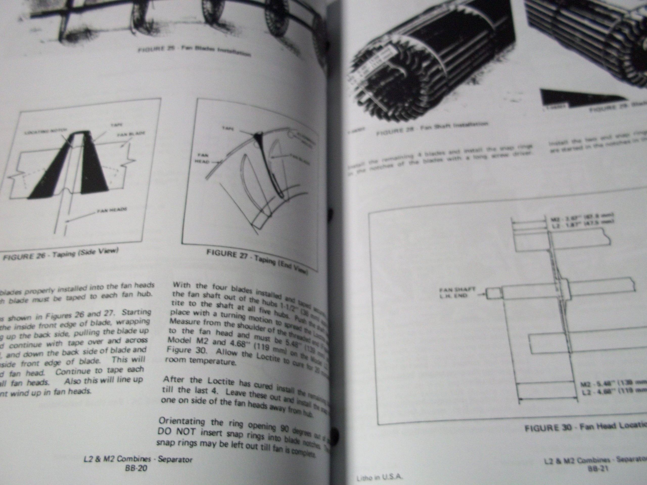 Deutz Allis L2 & M2 Gleaner Combine Service Manual: Deutz Allis:  Amazon.com: Books