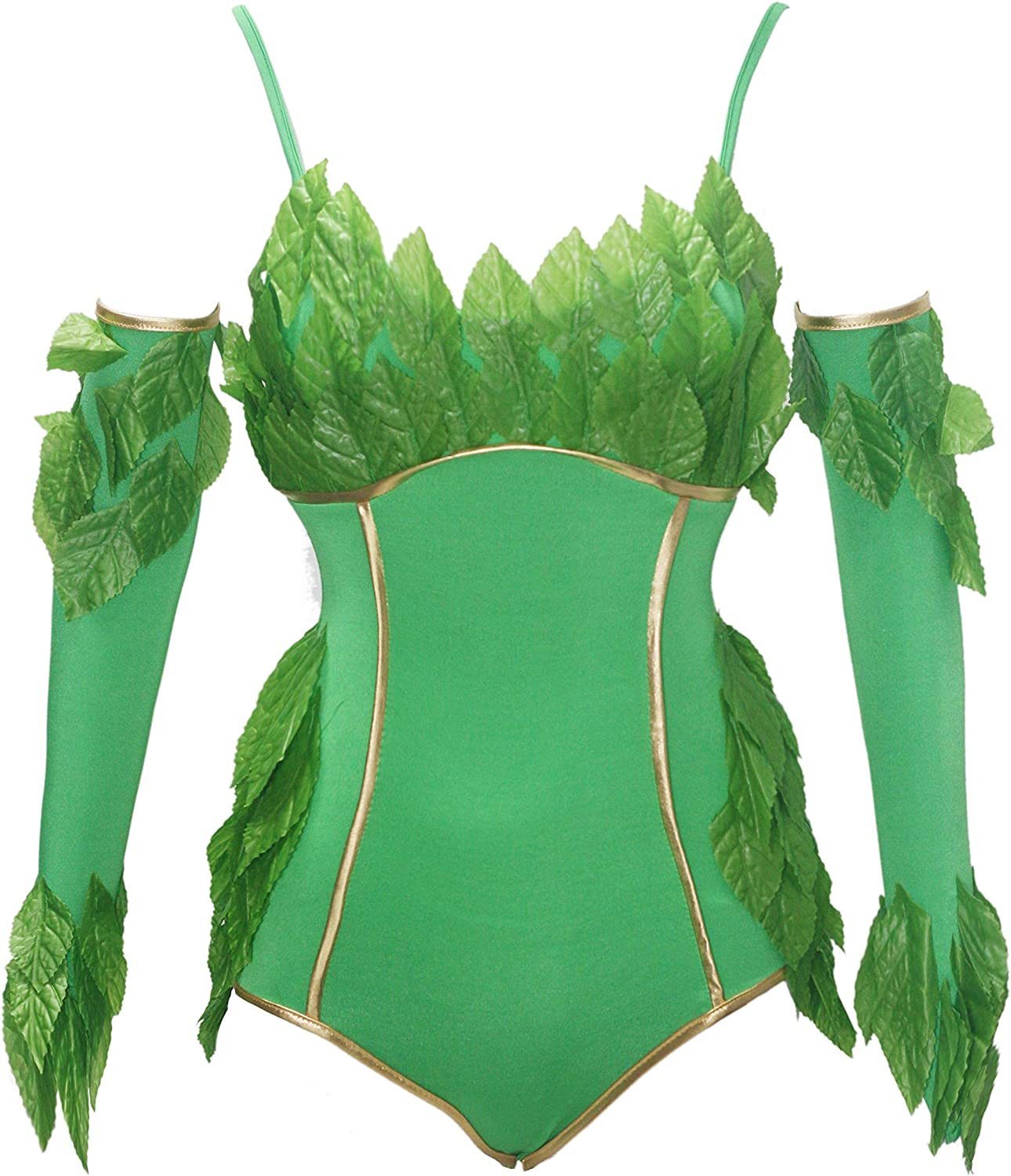 Bslingerie Poison Ivy - Body de Peluche, Color Verde: Amazon.es ...
