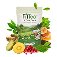 Fit Tea 14 Day Detox Herbal Weight Loss Tea- Natural Weight Loss, Body Cleanse and...