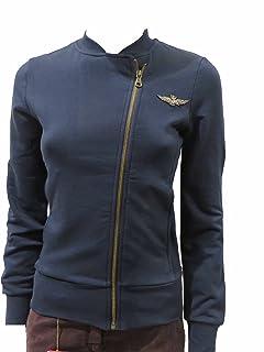 Aeronautica Militare Felpa Donna FE1222D Blu, Tshirt, Pantalone