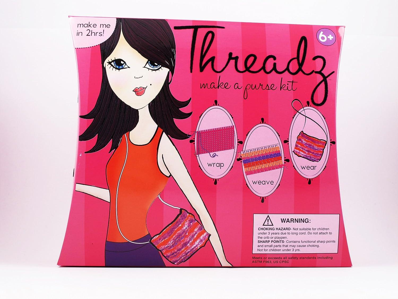 Threadz: Make a Purse Kit   B00BPTMBMU