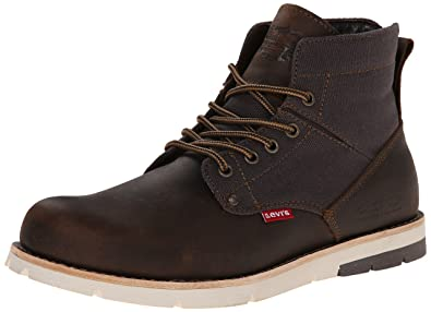 Levis Mens Jax Chukka Boot       Brown Charcoal