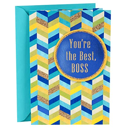 Amazon hallmark bosss day greeting card youre the best hallmark bosss day greeting card youre the best m4hsunfo