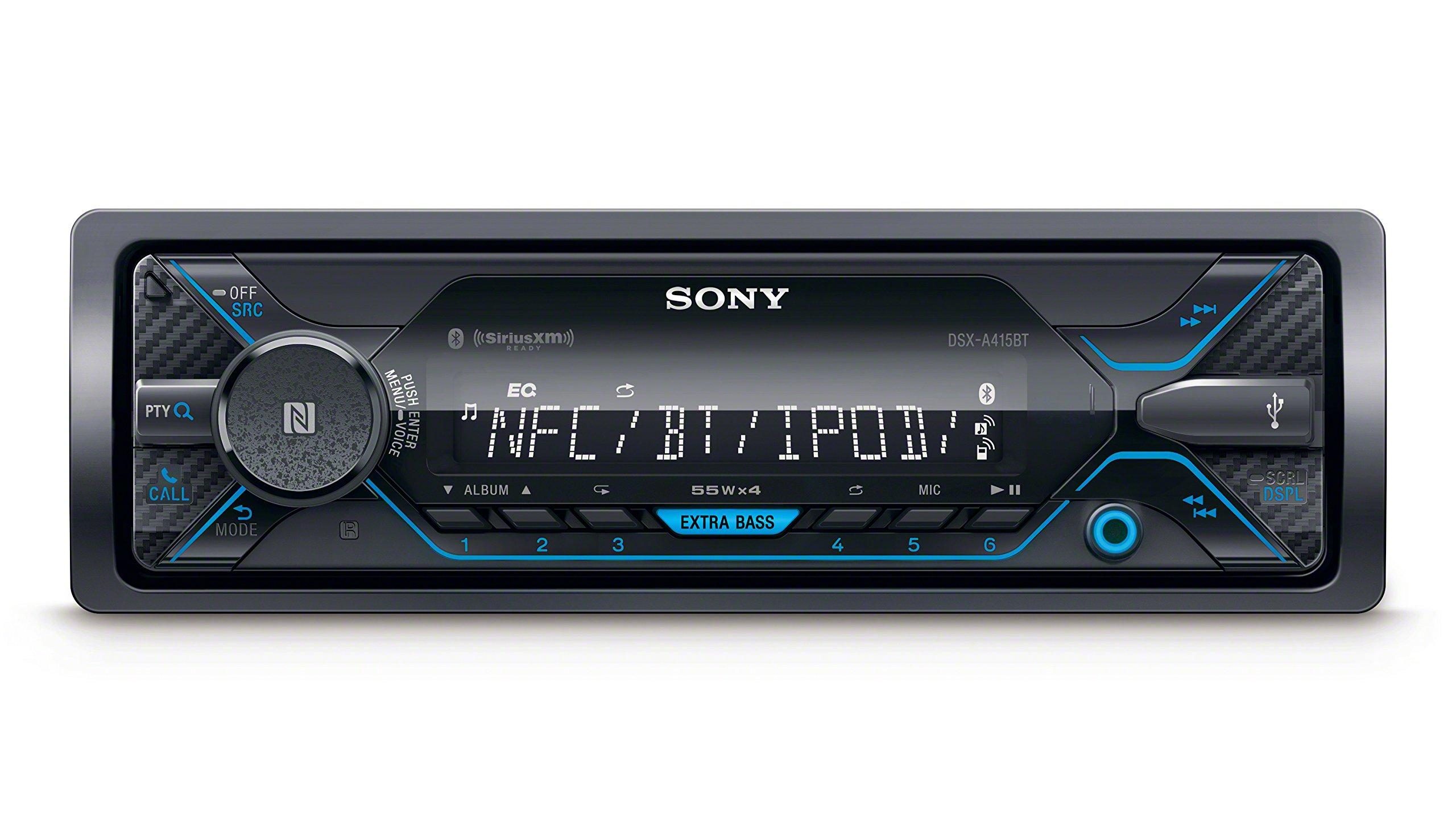 Sony DSXA415BT Digital Media Receiver with Bluetooth & Satellite Radio by Sony