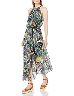 Jotebriyo Womens Off Shoulder Casual Floral Long Pants Wide Leg Rompers Jumpsuit