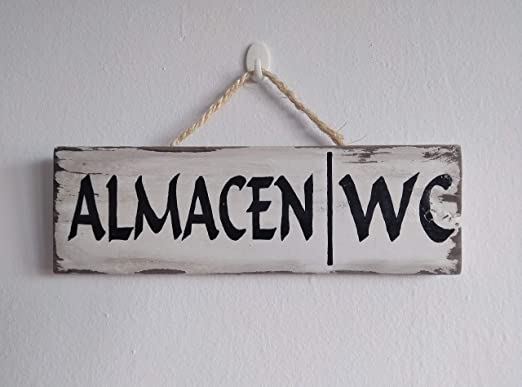 Carteles de madera personalizados, con frases, decorativos ...