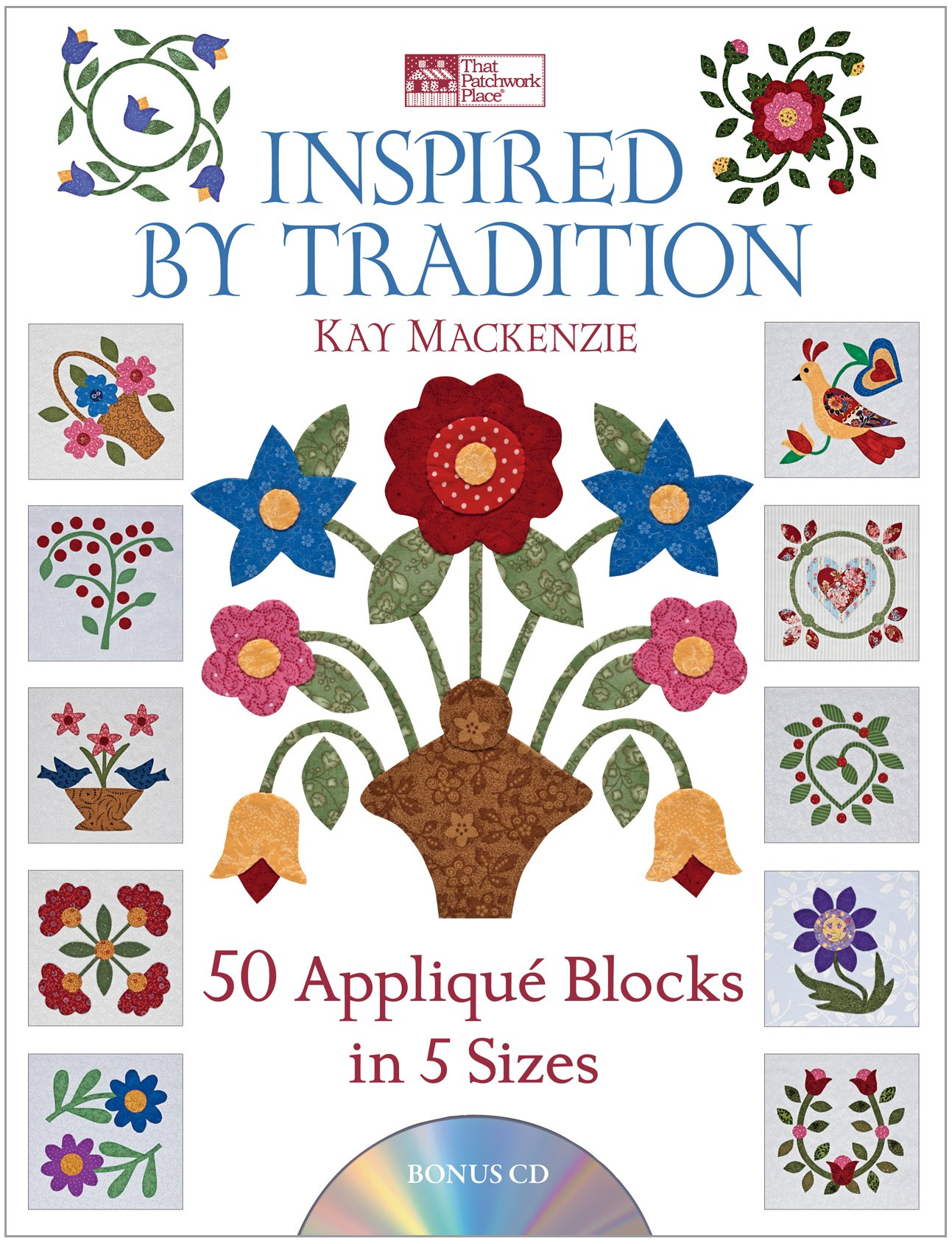 Inspired Tradition Appliqu%C3%A9 Blocks Sizes