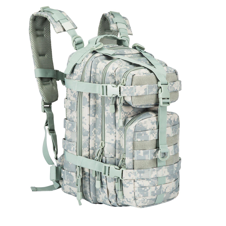 Pans Military AssaultバックパックアウトドアタクティカルバックパックHydrationバックパックキャメルパック防水キャンプハイキングトレッキング警察とスポーツ  ACU B07C7T394L