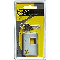 Yale Y124/60/110/1 Candado de Seguridad, Gris, 60 mm