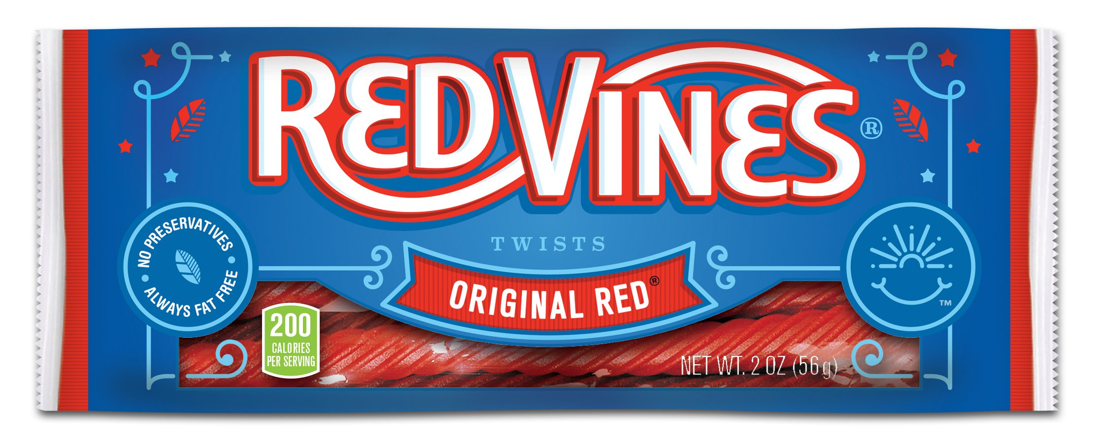 Red Vines Original Red Licorice Twists 2oz Bag (Pack of 16) by Red Vines