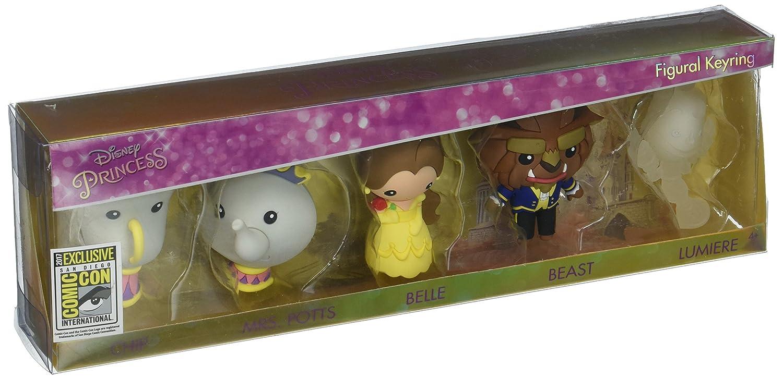 La Bella y La Bestia 3D Characters (Chip, Mrs. Potts, Belle ...