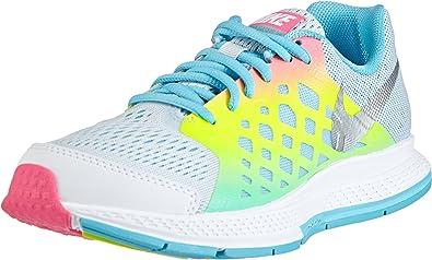 Nike Zoom Pegasus 31 - Zapatillas de Running de Material Sintético para niña Multicolore - Mehrfarbig (Pro Platinium/Metallic Silver-Blue Lagoon-Volt) 38,5: Amazon.es: Zapatos y complementos