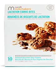 Milkmakers Lactation Cookie Bites, Oatmeal Chocolate Chip, 10 Count, 570g