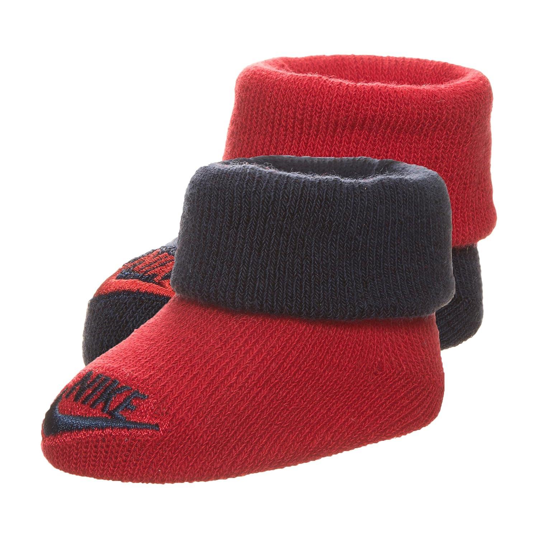 Nike Babyschuhe Baby Jungen 0-24 Monate Socken Schwarz Schwarz 0-6 Monate
