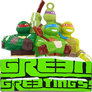 "TEENAGE MUTANT NINJA TURTLES ""GREEN GREETINGS"" ORNAMENT"