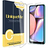 [3 Pack] UniqueMe Screen Protector for Samsung Galaxy A10s Screen Protector,Tempered Glass HD Clear Anti-Scratch
