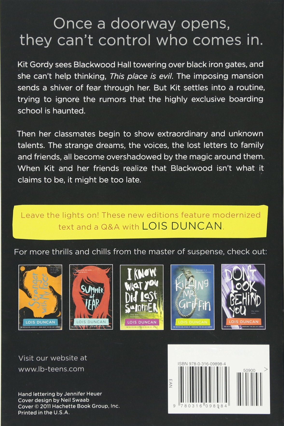 Down a Dark Hall by Little, Brown Books for Young Readers (Image #2)