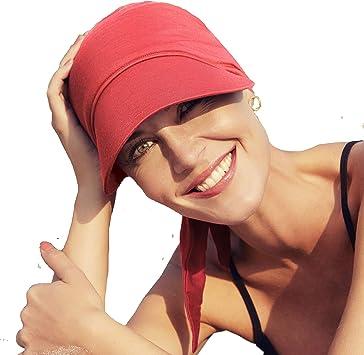 Christine Headwear Gorra oncológica Ultra transpirante Bianca con ...