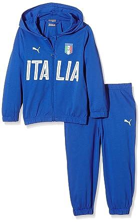 PUMA, FIGC Italia - Conjunto de chándal para niño, niño, FIGC ...