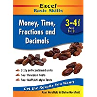 Excel Basic Skills Workbook: Money, Time, Fractions and Decimals Years 3-4