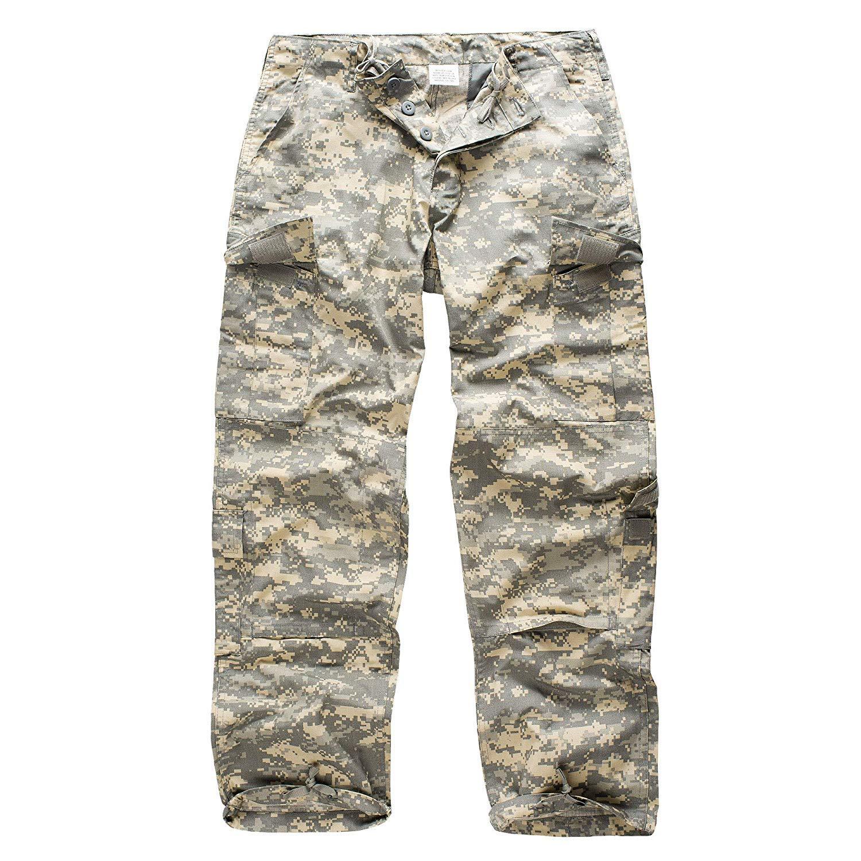 Urbandreamz US ACU Rangerhose Ripstop Freizeithose Tarnhose Camouflage Cargo BDU Hose Army 12 Farben