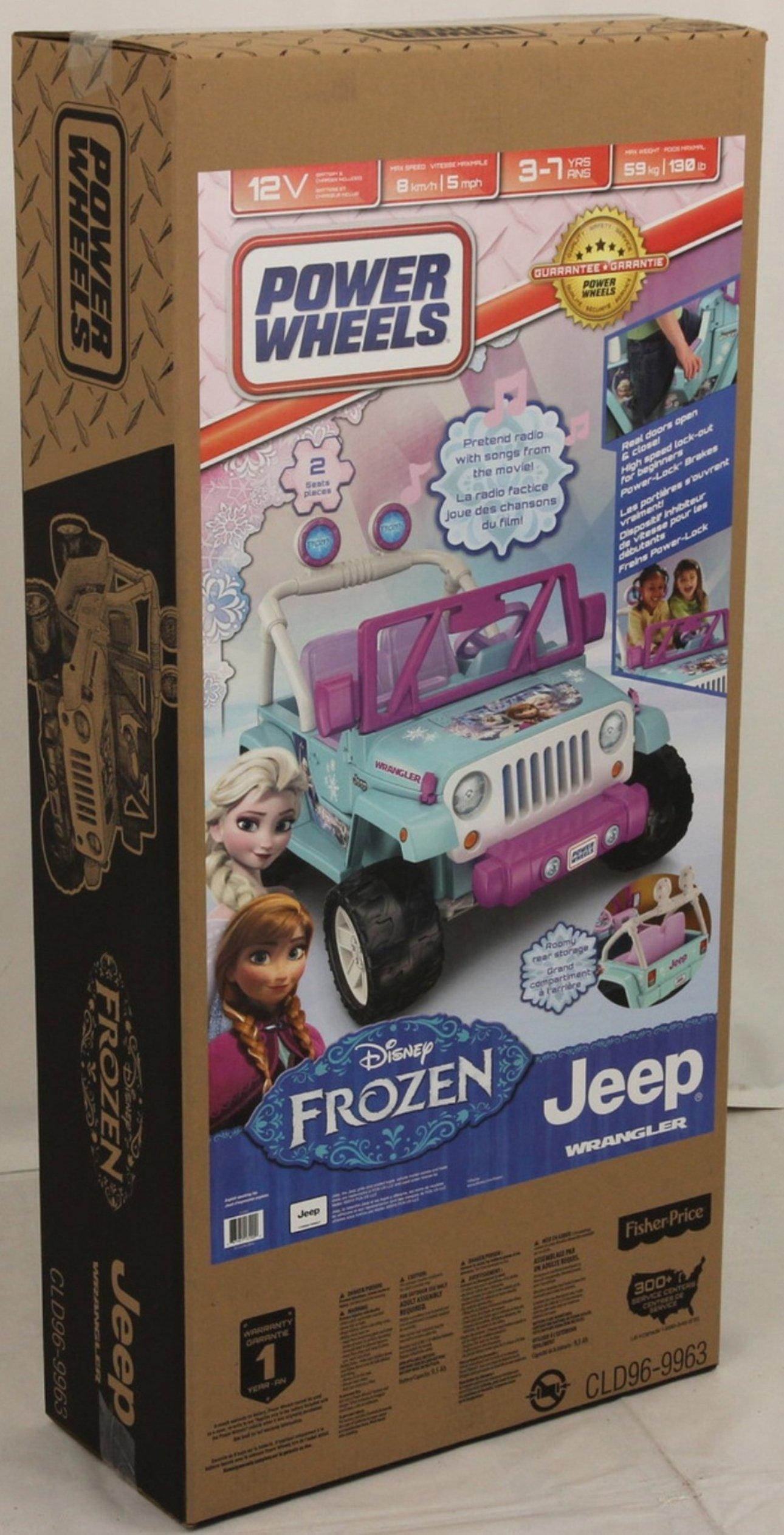 Power Wheels Disney Frozen Jeep Wrangler by Fisher-Price (Image #14)