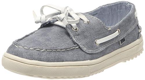XTI 51426_Navy - Mocasines de tela para niño, color azul, talla 31: Amazon.es: Zapatos y complementos
