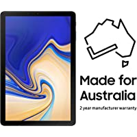 Samsung Galaxy Tab S4 WiFi 64GB (Australian Version) with 2 Year Manufacturer Warranty,Black,SM-T830NZKAXSA