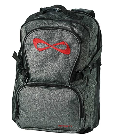 infinity online sparkle instep backpacks backpack activewear cheer red nfinity