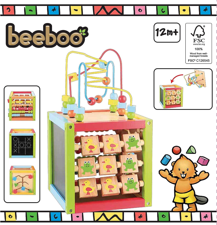 WoodenToys Holzk/üche Deluxe Spielzeug Holzk/üche f/ür Kinder Spielk/üche komplett aus Holz Kinderk/üche aus Holz