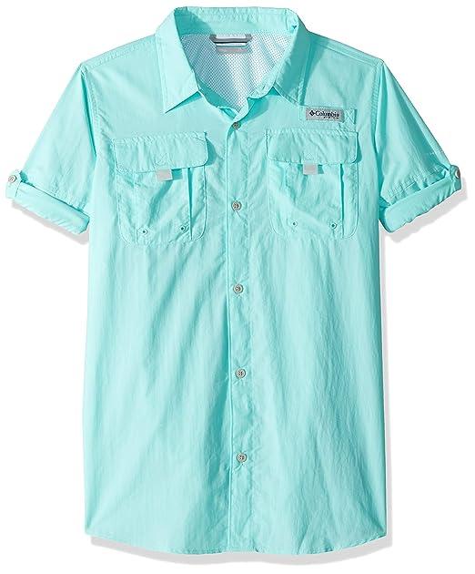 b2f8475769 Amazon.com   Columbia Sportswear Boy s Bahama Long Sleeve Shirt ...