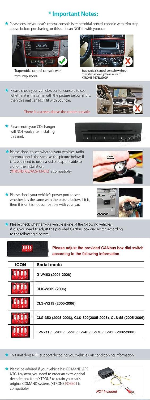 XTRONS 7 Inch HD Digital Touch Screen Dual CANbus Car