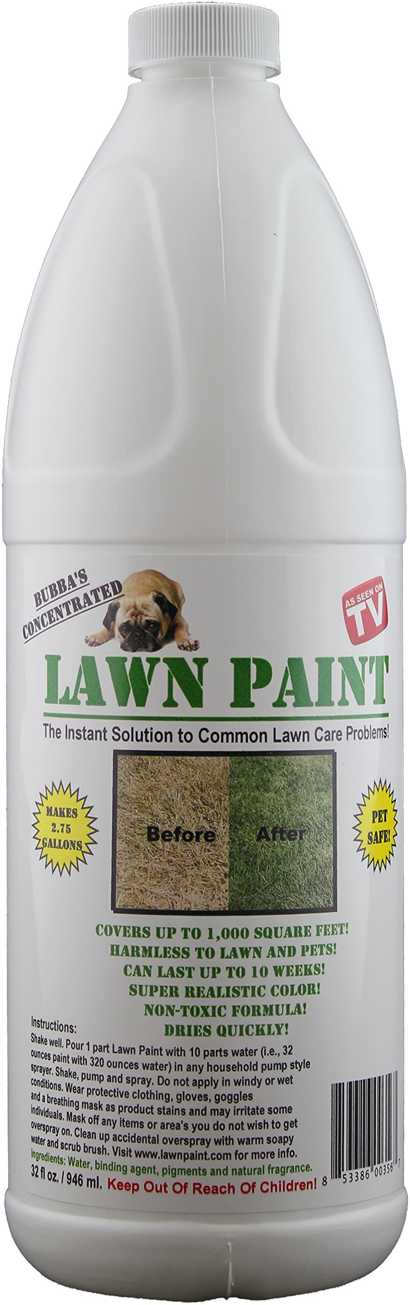 Lawn Paint Concentrate Lawn Paint, Covers up to 1,000 sq. ft.