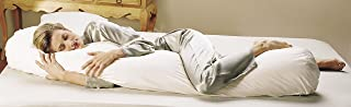 product image for Teen Bean Body Pillow Staph Chek Shell, Hypoallergenic Fill and Pillowcase