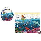 Janod - J02947 - Valisette Puzzle Sous-Marin 100 pcs
