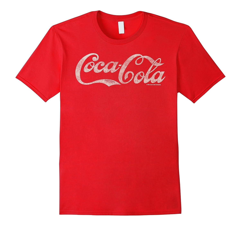 Coca-Cola Antique Script Logo Graphic T-Shirt-T-Shirt