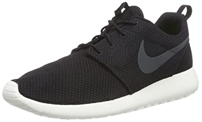 NIKE Men's Rosherun Black/Anthracite/Sail Running Shoe 11.5 Men US