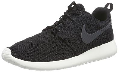 info for 89128 18136 Nike Roshe Run Black White Mens Trainers Size 11 UK