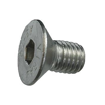 Senkschraube M12 x 20 mm Innensechskant DIN 7991 // ISO 10642 Edelstahl V2A VA A2 5 St/ück