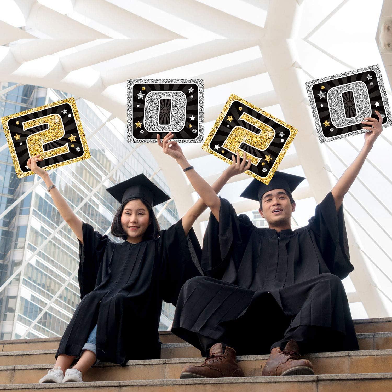 2019 Abschluss Banner Klasse von 2019 Congrats Grad f/ür Hochschule Oberschule Abschluss Decoration Abschluss Veranda Zeichen Grad Party Vorr/äte