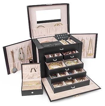 Amazoncom Sorbus Jewelry Box Storage Organizer Travel Case with