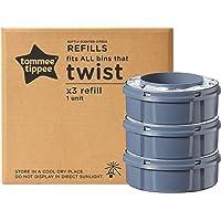 Tommee Tippee 85100901 Sangenic Ricariche per Sistema Avanzato di Smaltimento Pannolini Twist & Click