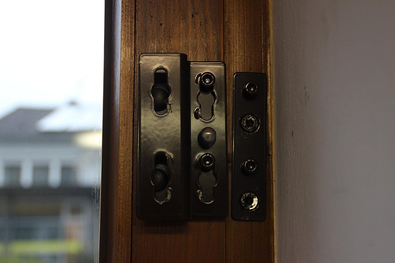 Einbruchschutz für Fenster und Terrassentüren ESB 10 braun zum ...