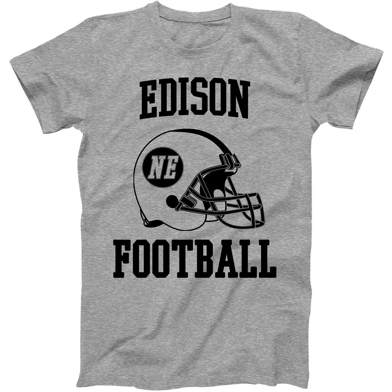 Vintage Football City Edison Shirt For State Nebraska With Ne On Retro Helmet Style