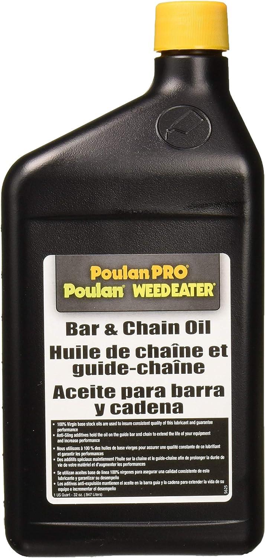 Amazon.com: Poulan Pro 952030203aceite para barra y ...