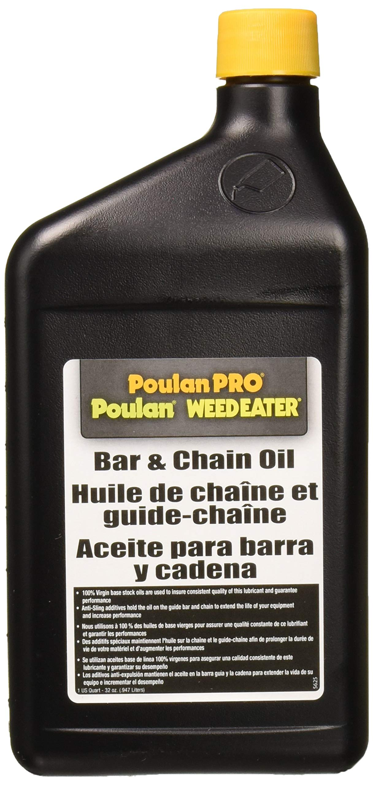 Poulan Pro 952030203 Bar and Chain Oil - 1 Quart by Poulan Pro