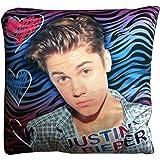 Justin Bieber Multi-Color Zebra Decorative Cushion Pillow