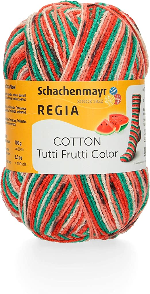 Schachenmayr REGIA 9801621-02421 Hilo para tejer a mano, 72% algodón, 18% Poliamida, 10% poliéster, Agua, 16 x 8 x 8 cm: Amazon.es: Hogar