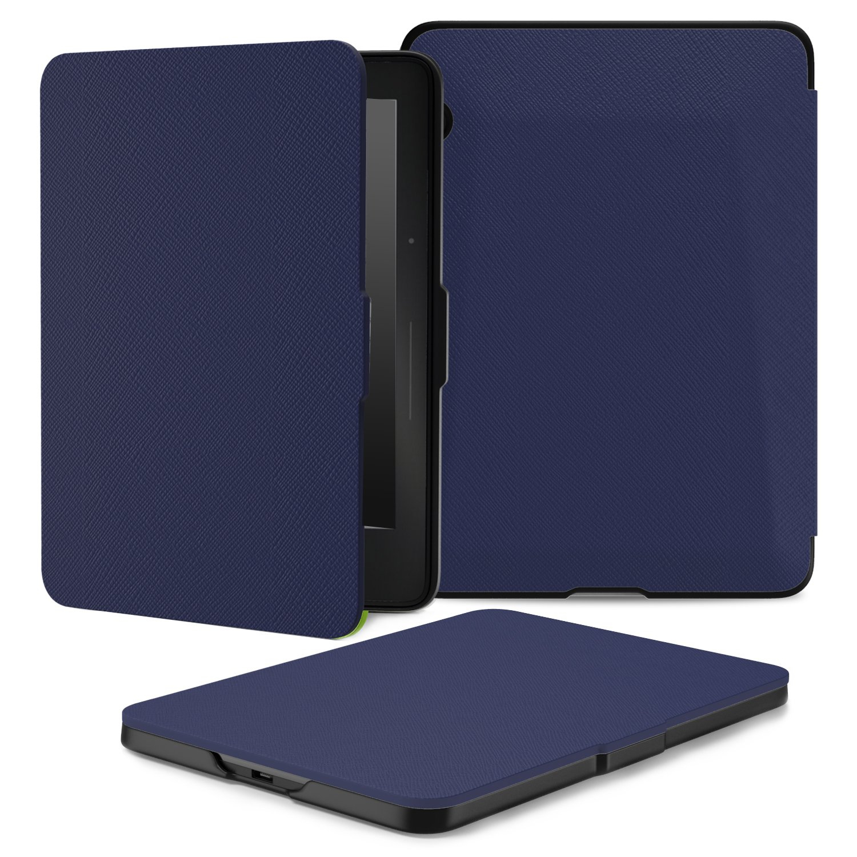MoKo Amazon Kindle Voyage Case - Slim Lightweight Smart Shell Stand Cover Case for Amazon Kindle Voyage 6'' Inch, INDIGO